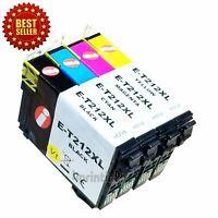Rem. 212 XL T212XL Ink Cartridges For Epson 212 WF-2830 WF-2850 XP-4105 XP-4100