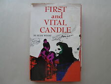 FIRST AND VITAL CANDLE by Rudy Wiebe 1966 HCDJ Christian Fiction NOVEL Eerdmans