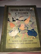 mother brown earths children edna groff deihl Hardcover Rare