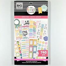 The Happy Planner Adulting Sticker Book Pack Of 740 Me & My Big Ideas