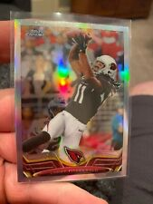 2013 Topps Chrome Refractors Arizona Cardinals Football Card #2 Larry Fitzgerald