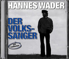 Hannes Wader - Der Volkssänger / 2-CD / TOPZUSTAND!  Mercury Rec 538543-2