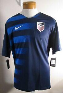 NWT Nike Mens USA 2018 Away Stadium Soccer Jersey XXL Midnight Navy MSRP$90