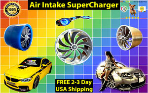 USA Seller Fit Volkswagen Air Intake Supercharger Charger Turbo Power Fan Kit VW