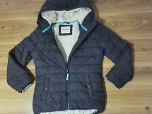 Boden girls 9-10 years warm navy winter coat
