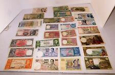 Assorted Lot of paper World-Wide currency 1960 - 70's