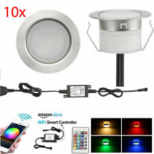 10X 45mm Smart Home WIFI Controller RGB+WW LED Pool Deck Stair Kitchen Lights