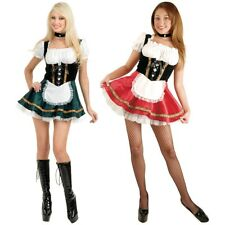 Beer Girl Costume Adult German Oktoberfest Halloween Fancy Dress