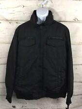 Tommy Hilfiger Water & Wind Resistant Full Zip Coat Jacket Black Sz XXL NWT