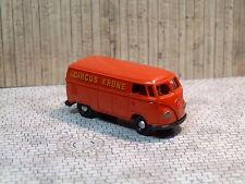 Brekina VW Bus T1 CIRCUS KRONE Kasten Transporter Gerätewagen Werbewagen