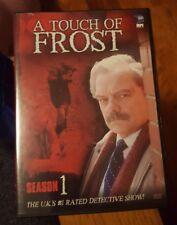 A Touch of Frost - Season 1 (DVD, 2004, 2-Disc Set) Bruce Alexander, David Jason