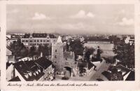uralte AK, Naumburg Saale Blick von der Marienkirche auf Marientor 1939