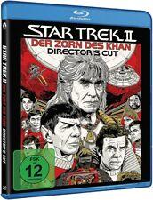 Blu-ray STAR TREK 2: Der Zorn des Khan (Director's Cut) # William Shatner ++NEU