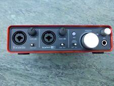 Focusrite Scarlett 2i2 Audio Interface USB Recording