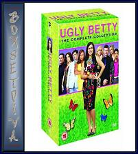 UGLY BETTY- COMPLETE  COLLECTION - SEASONS 1 2 3 & 4   *BRAND NEW DVD BOXSET*