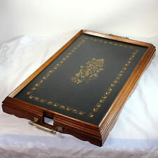 Antique Ferguson butler's tray with decoration