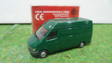MERCEDES SPRINTER HOCHDACH Vert 1/87 TRAIN HO HERPA 042536 voiture miniature