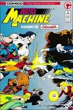 JUSTICE MACHINE FEATURING THE ELEMENTALS #2 OF 4 ISSUE MINI-SERIES COMICO COMICS