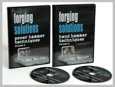 Forging Solutions: Hand Hammer & Power Hammer Techniques (2 DVD Set)