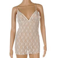 MALENE BIRGER Vest Top Ivory Floral Sheer Lace Pattern Size XS SW 311