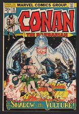 CONAN - LOT OF 4... #22, #33, #35, #37, Marvel, 1973-74, AVG Grade VF to VF/NM