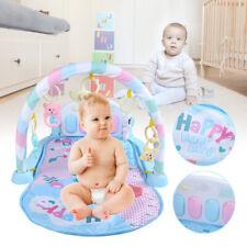 Baby Krabbeldecke Spielbogen Erlebnisdecke Matte Kinderdecke Piano-Fitness-Rack