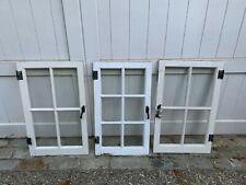 Antique Vintage Casement Window Sashes Shabby 22X34 Vintage