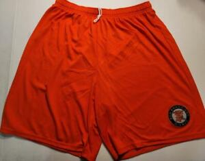 0724 Mens SAN FRANCISCO GIANTS Jersey Polyester Embroidered SHORTS ORANGE New