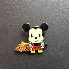 Mini Babies - Mickey with Race Car Very RARE Disney Pin 37876