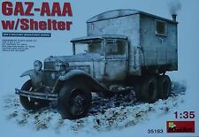 MINIART #35183 GAZ-AAA with Shelter in 1:35