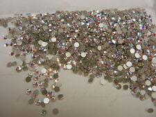 144 swarovski xirius rose flatbacks,12ss crystal AB/foiled #2088