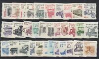 USA 1981 Transportation Coil Set Of 33 MNH J9052