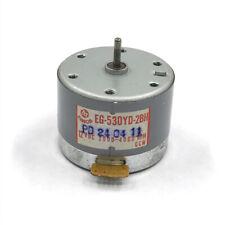 For MABUCHI EG-530YD-2BH 12VDC 2000-4000RPM CCW Capstan Tape Deck Recorder Motor