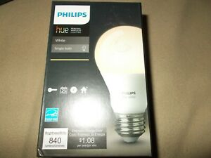 Philips Hue White Ambiance A19 LED Dimmable Smart Wireless Light Bulb/Bluetooth