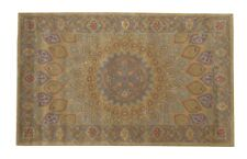 Hand Tufted Wool Gombad Rug 7'10 X 4'11
