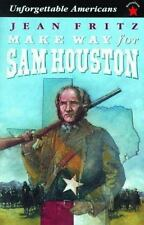 Make Way for Sam Houston by Jean Fritz (1998, Paperback)