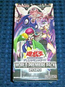 NEW Yu-Gi-Oh! OCG World Premiere Pack 2020 Booster Box 15 Packs KONAMI JAPAN F/S