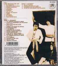 RARE 70s 60'S 2CDs+booklet ANA & JOHNNY LOS MAGOZ DE OZ caracol Y TE AMARE jimmy