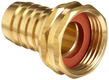 """New listing Anderson Metals Brass Garden Hose Swivel Fitting, Connector, 5/8 Barb x 3/4""""."""""""