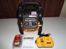 Dewalt Flexvolt 60V Max 2.5 Gal Cordless Compressor Kit DCC2560T1