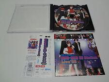 OST Neo-Geo DJ Station Live 99 W/Spine SNK Japan
