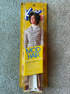 NRFB MIB #4224 MOD HAIR Ken 1972 Canada foreign import VINTAGE RARE