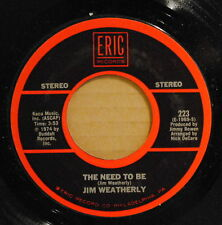 Jim Weatherly - The Need To Be / Paul Anka - Do I Love You - Mint- Rock 45