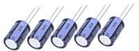 5Stück 2200UF +/-20% 10V Elektrolytkondensator Kondensatoren Elko YAGEO 13X20mm