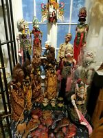 Antique and Vintage Wayang Golek Puppets Java Hand Made You Choose Which One!!