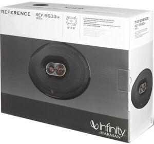 """Infinity Reference REF-9633IX 300W 6"""" X 9"""" Performance 3-Way Car Speaker System"""