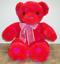 "Valentine Bear by Commonthwealth Toy 21"" Red-Love Bear, stuffed plush"