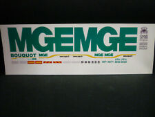 Decalcomanies Transport MGE 1/43 et 1/50