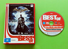 Batman Arkham Asylum for PC - See My Ebay Store For More Games