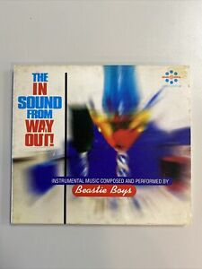 BEASTIE BOYS - THE IN SOUND FROM WAY OUT - CD - VGC